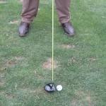 golfer starting golf backswing