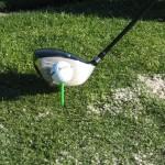 teeing the golf ball higher