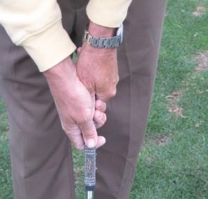 neutral golf grip