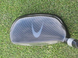 hybrid golf club top view
