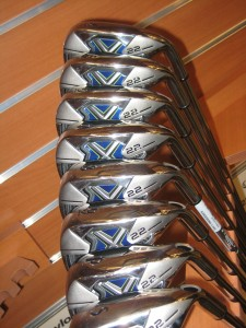set of golf irons