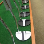 golf putter alignment sights